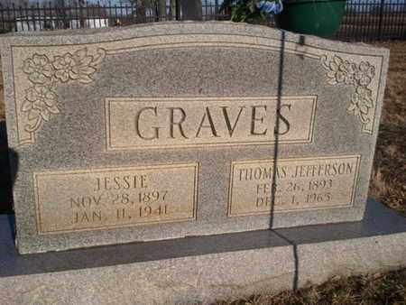GRAVES, JESSIE - Allen County, Kentucky | JESSIE GRAVES - Kentucky Gravestone Photos