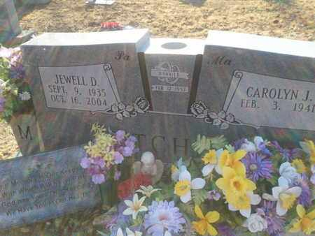 MITCHELL, JEWELL D. - Allen County, Kentucky | JEWELL D. MITCHELL - Kentucky Gravestone Photos