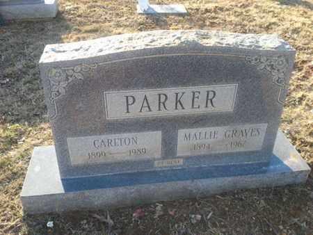 GRAVES PARKER, MALLIE - Allen County, Kentucky | MALLIE GRAVES PARKER - Kentucky Gravestone Photos