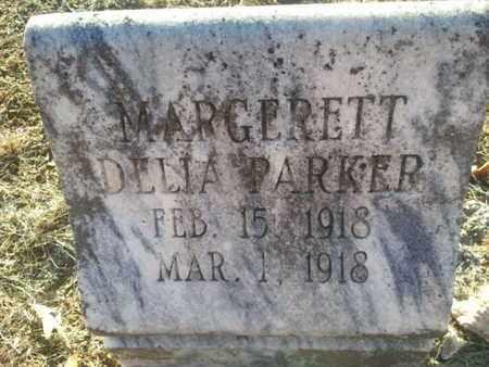 PARKER, MARGERETT DELIA - Allen County, Kentucky | MARGERETT DELIA PARKER - Kentucky Gravestone Photos