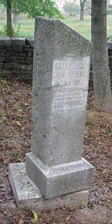 ROACH, JR., BAILEY - Anderson County, Kentucky   BAILEY ROACH, JR. - Kentucky Gravestone Photos