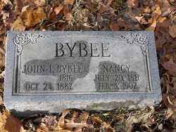 CLARK BYBEE, NANCY FERRIS - Barren County, Kentucky | NANCY FERRIS CLARK BYBEE - Kentucky Gravestone Photos