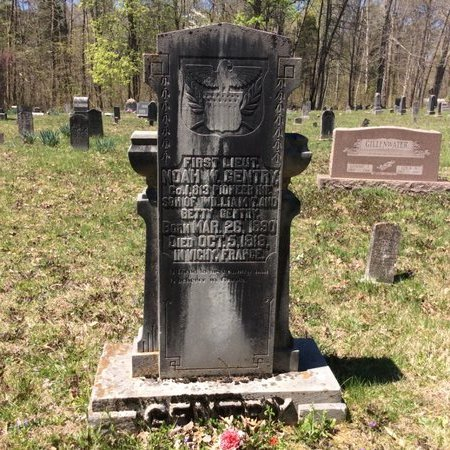 GENTRY, NOAH - Barren County, Kentucky | NOAH GENTRY - Kentucky Gravestone Photos