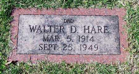 HARE, WALTER D - Barren County, Kentucky   WALTER D HARE - Kentucky Gravestone Photos