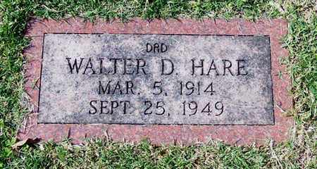 HARE, WALTER D - Barren County, Kentucky | WALTER D HARE - Kentucky Gravestone Photos