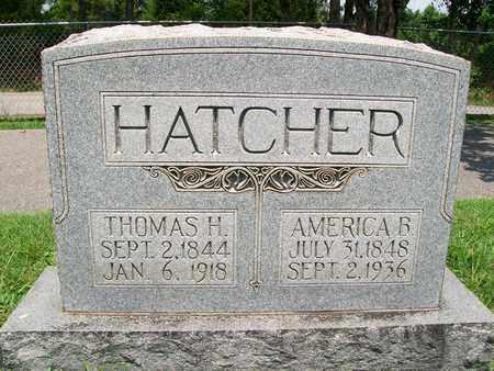 HATCHER, AMERICA B. - Barren County, Kentucky | AMERICA B. HATCHER - Kentucky Gravestone Photos