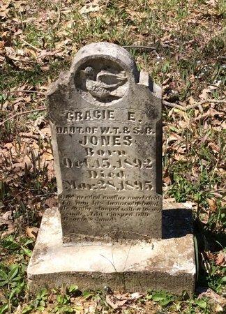 JONES, GRACIE E. - Barren County, Kentucky   GRACIE E. JONES - Kentucky Gravestone Photos