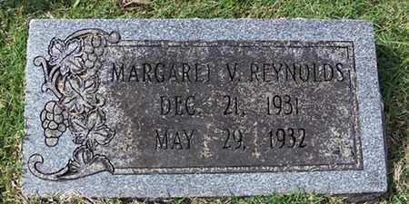 REYNOLDS, MARGARET V. - Barren County, Kentucky | MARGARET V. REYNOLDS - Kentucky Gravestone Photos