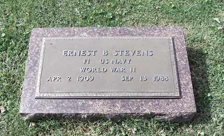 STEVENS (VETERAN WWII), ERNEST B. - Barren County, Kentucky | ERNEST B. STEVENS (VETERAN WWII) - Kentucky Gravestone Photos