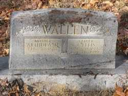 WALLEN, ARTHULA MINNIE - Barren County, Kentucky | ARTHULA MINNIE WALLEN - Kentucky Gravestone Photos