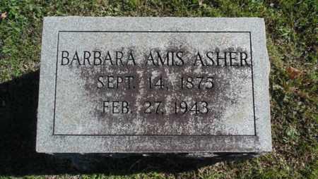 AMIS ASHER, BARBARA - Bell County, Kentucky   BARBARA AMIS ASHER - Kentucky Gravestone Photos