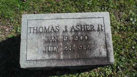 ASHER. II, THOMAS J. - Bell County, Kentucky | THOMAS J. ASHER. II - Kentucky Gravestone Photos