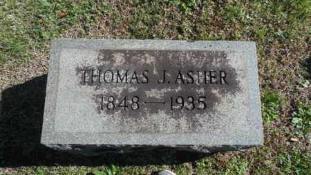 ASHER, THOMAS J - Bell County, Kentucky | THOMAS J ASHER - Kentucky Gravestone Photos