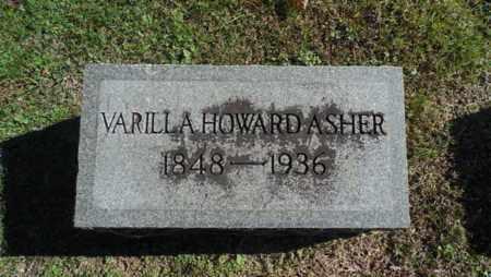 HOWARD ASHER, VARILLA - Bell County, Kentucky | VARILLA HOWARD ASHER - Kentucky Gravestone Photos