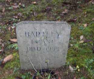 BARTLEY, INFANT - Bell County, Kentucky | INFANT BARTLEY - Kentucky Gravestone Photos
