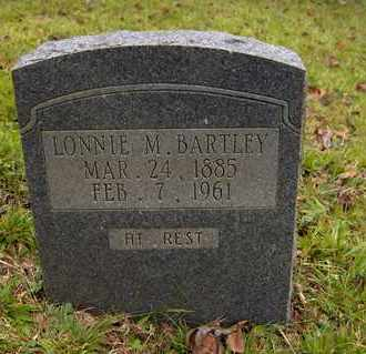 BARTLEY, LONNIE M. - Bell County, Kentucky | LONNIE M. BARTLEY - Kentucky Gravestone Photos