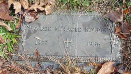 MIRACLE BOLDIN, PAWNEE - Bell County, Kentucky   PAWNEE MIRACLE BOLDIN - Kentucky Gravestone Photos