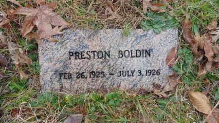 BOLDIN, PRESTON - Bell County, Kentucky | PRESTON BOLDIN - Kentucky Gravestone Photos