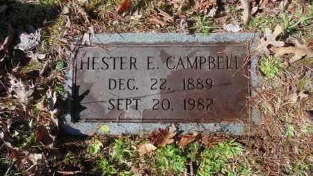 CAMPBELL, HESTER E - Bell County, Kentucky | HESTER E CAMPBELL - Kentucky Gravestone Photos