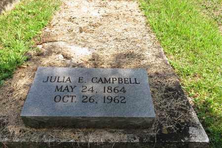 CAMPBELL, JULIA E - Bell County, Kentucky | JULIA E CAMPBELL - Kentucky Gravestone Photos