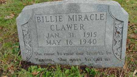 CLAWER, BILLIE - Bell County, Kentucky | BILLIE CLAWER - Kentucky Gravestone Photos