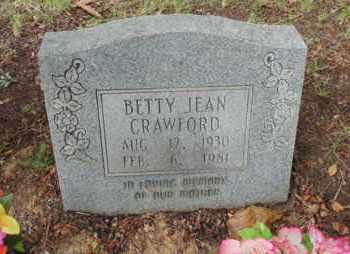 CRAWFORD, BETTY JEAN - Bell County, Kentucky   BETTY JEAN CRAWFORD - Kentucky Gravestone Photos