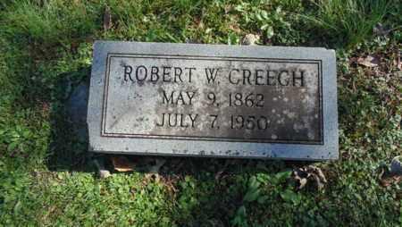CREECH, ROBERT W - Bell County, Kentucky | ROBERT W CREECH - Kentucky Gravestone Photos