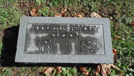 CULTON, AUGUSTUS BRADLEY - Bell County, Kentucky | AUGUSTUS BRADLEY CULTON - Kentucky Gravestone Photos