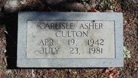 CULTON, CARLISLE ASHER - Bell County, Kentucky | CARLISLE ASHER CULTON - Kentucky Gravestone Photos