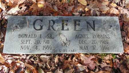 GREEN, SR., DONALD E - Bell County, Kentucky | DONALD E GREEN, SR. - Kentucky Gravestone Photos