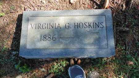 HOSKINS, VIRGINIA G - Bell County, Kentucky | VIRGINIA G HOSKINS - Kentucky Gravestone Photos