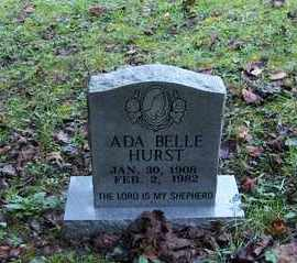 HURST, ADA BELLE - Bell County, Kentucky | ADA BELLE HURST - Kentucky Gravestone Photos