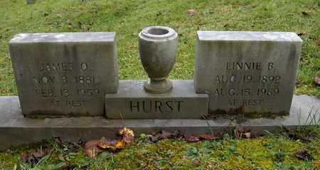 HURST, JAMES OLIVER - Bell County, Kentucky | JAMES OLIVER HURST - Kentucky Gravestone Photos