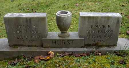 WILSON HURST, LINNIE BELLE - Bell County, Kentucky | LINNIE BELLE WILSON HURST - Kentucky Gravestone Photos