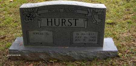 HURST, OLIVER HASSELL - Bell County, Kentucky | OLIVER HASSELL HURST - Kentucky Gravestone Photos