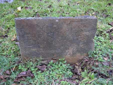 JONES, E B - Bell County, Kentucky | E B JONES - Kentucky Gravestone Photos