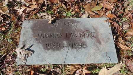 LAMBERT, THOMAS - Bell County, Kentucky | THOMAS LAMBERT - Kentucky Gravestone Photos