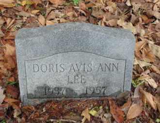 LEE, DORIS ALVIS ANN - Bell County, Kentucky | DORIS ALVIS ANN LEE - Kentucky Gravestone Photos