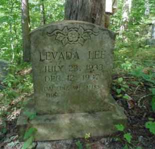 LEE, LEVADA - Bell County, Kentucky | LEVADA LEE - Kentucky Gravestone Photos