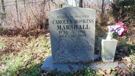 HOSKINS MARSHALL, CAROLYN - Bell County, Kentucky   CAROLYN HOSKINS MARSHALL - Kentucky Gravestone Photos