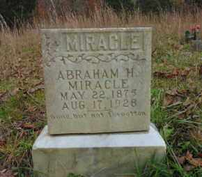 MIRACLE, ABRAHAM H - Bell County, Kentucky | ABRAHAM H MIRACLE - Kentucky Gravestone Photos