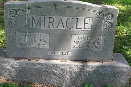 MIRACLE, JAMES A - Bell County, Kentucky | JAMES A MIRACLE - Kentucky Gravestone Photos