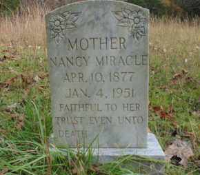 MIRACLE, NANCY - Bell County, Kentucky | NANCY MIRACLE - Kentucky Gravestone Photos