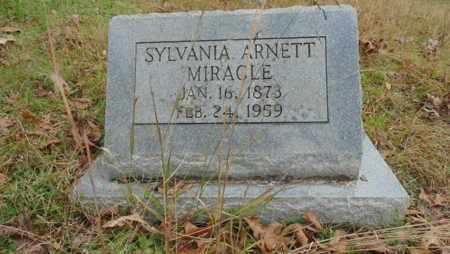 ARNETT MIRACLE, SYLVANIA - Bell County, Kentucky | SYLVANIA ARNETT MIRACLE - Kentucky Gravestone Photos