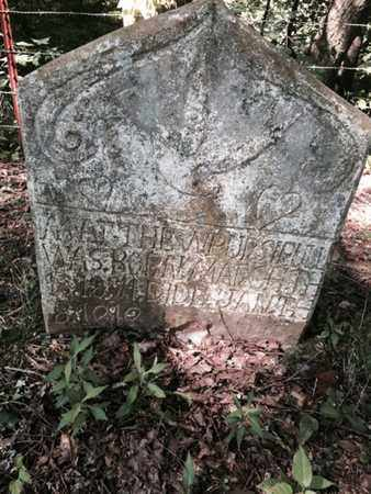 PURSIFULL, MATTHEW M.M. - Bell County, Kentucky   MATTHEW M.M. PURSIFULL - Kentucky Gravestone Photos