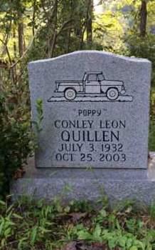QUILLEN, CONLEY LEON - Bell County, Kentucky | CONLEY LEON QUILLEN - Kentucky Gravestone Photos