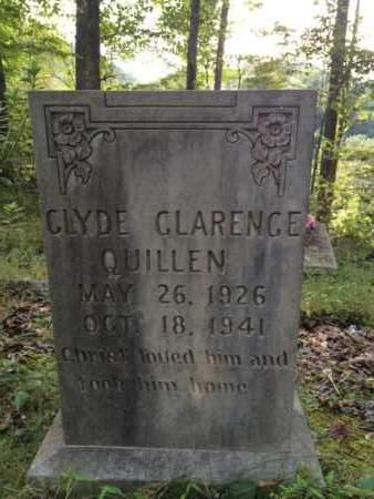 QUILLEN, CLYDE CLARENCE - Bell County, Kentucky | CLYDE CLARENCE QUILLEN - Kentucky Gravestone Photos