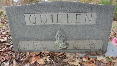 QUILLEN, OLLIE R - Bell County, Kentucky   OLLIE R QUILLEN - Kentucky Gravestone Photos
