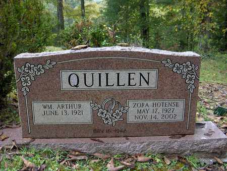 QUILLEN, WILLIAM ARTHUR - Bell County, Kentucky | WILLIAM ARTHUR QUILLEN - Kentucky Gravestone Photos