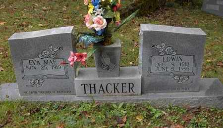 THACKER, EDWIN - Bell County, Kentucky | EDWIN THACKER - Kentucky Gravestone Photos